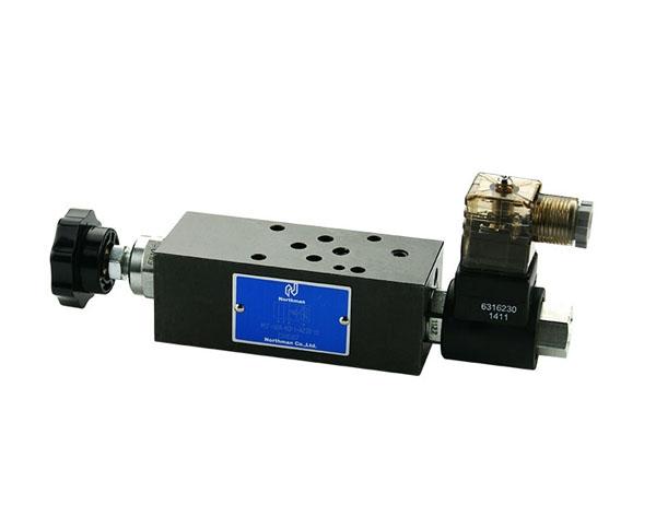 MSF叠加式电控调速阀