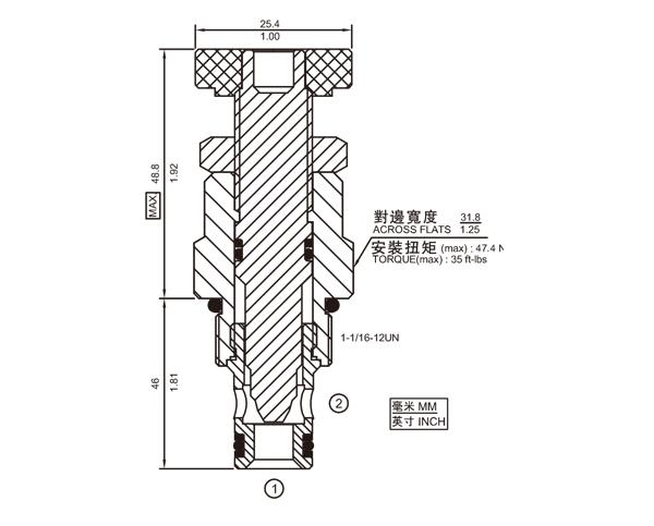 NV12-20 节流阀