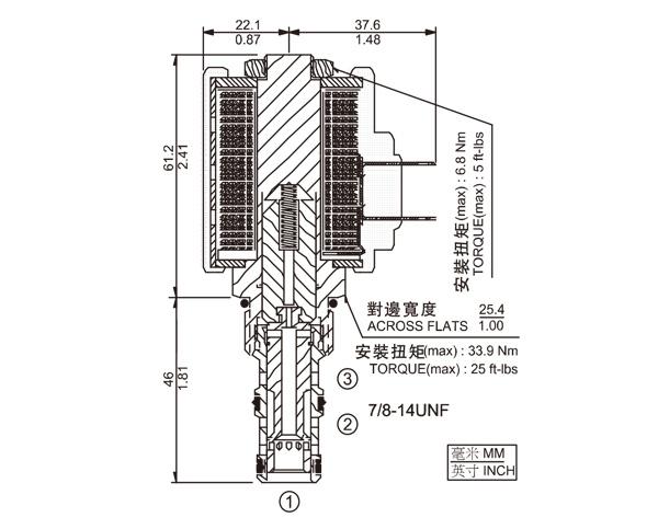 SV10-34 三通换向阀