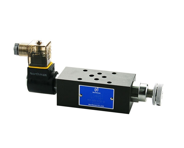 MST叠加式电控节流阀