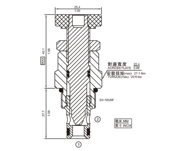 NV08-20 节流阀