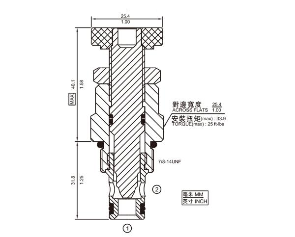 NV10-20 节流阀