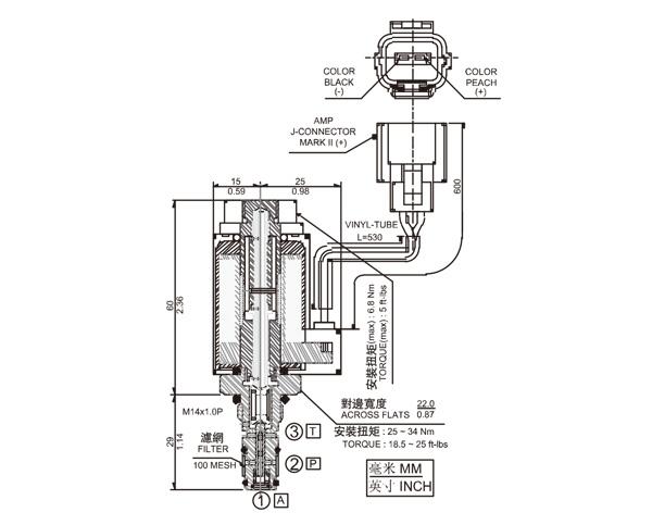 NCV-01-PR 直动式比例减压阀